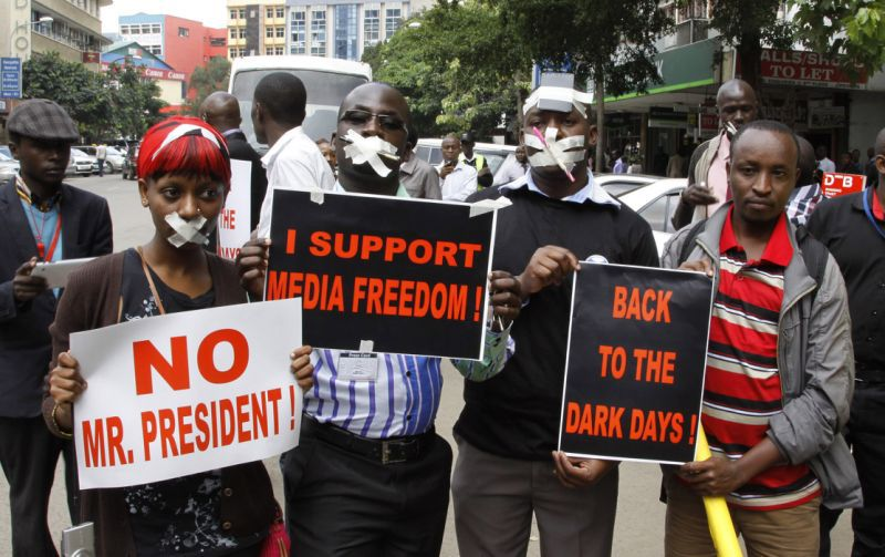 Press Freedom: Cry of Kenyan Journalists