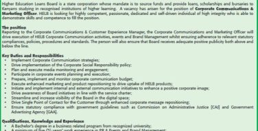 vacancy-corporate-communications-marketing-officer-needed-at-helb-49278