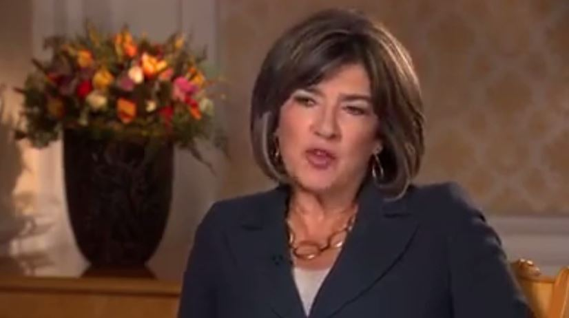 Video: Christine Amanpour 'puss**y' interview laughter
