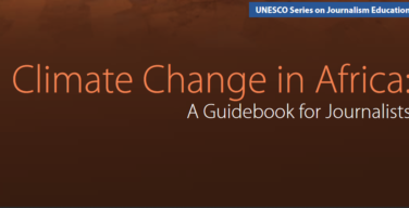 - Climate Change in A Guidebook for journalists