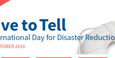 International Day for Disaster Reduction 2016