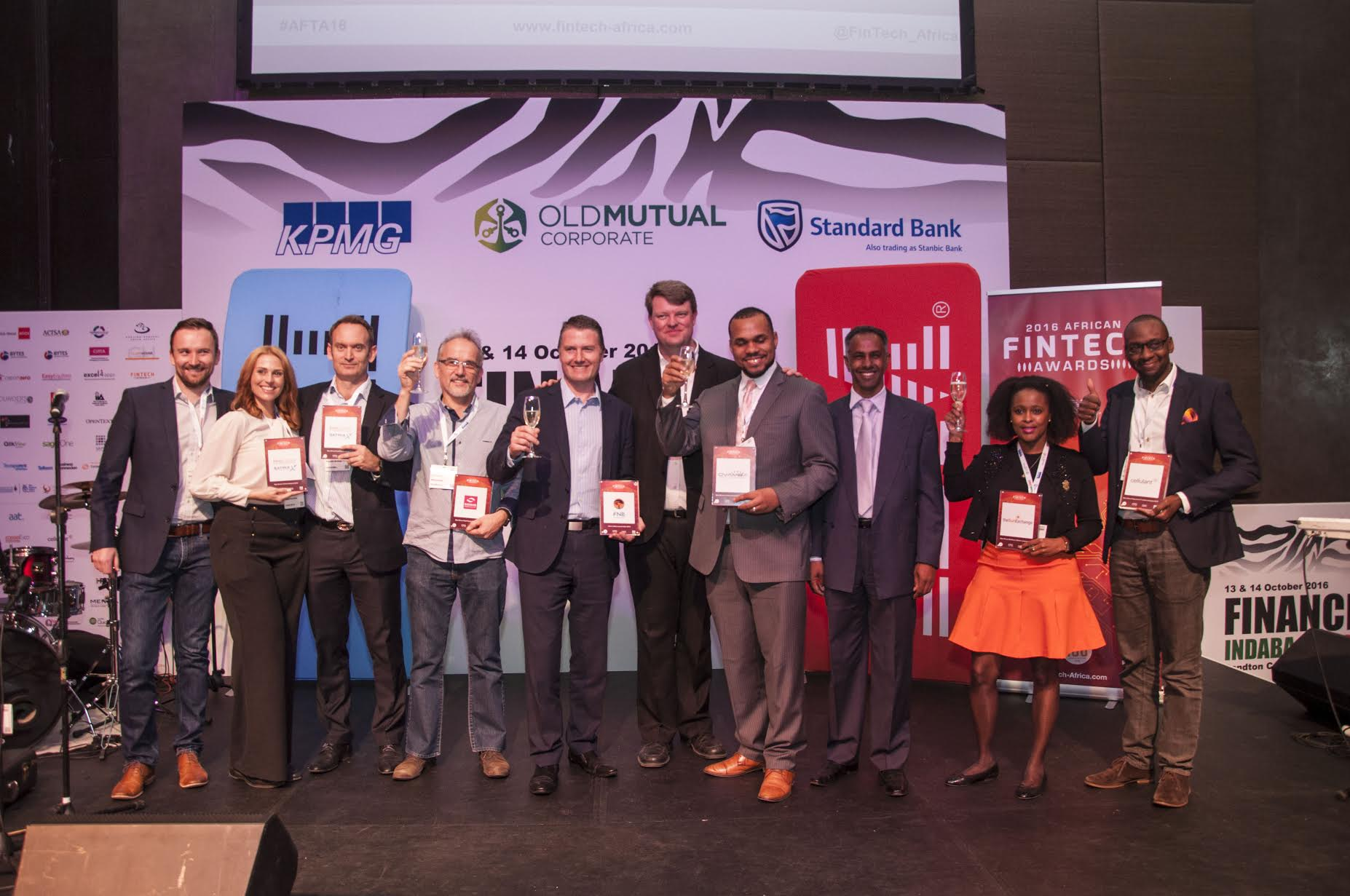 Cellulant wins Best Payments and Transfers Company Award at  African FinTech 2016