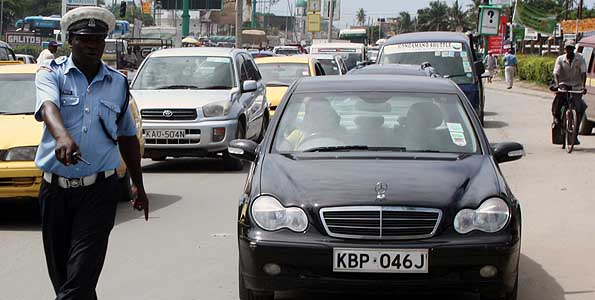 Fines for Kenya Traffic Minor Offenses 2016