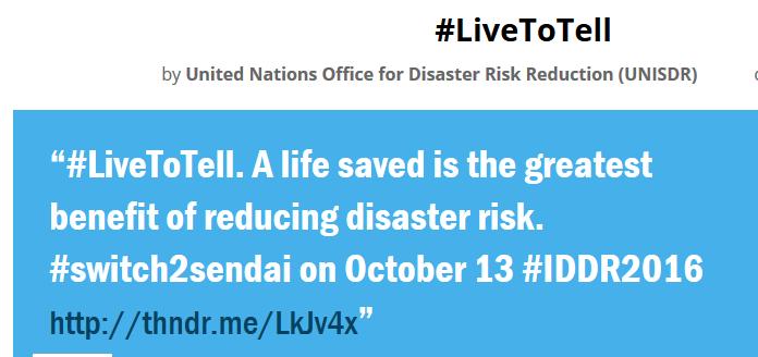Kenya marks International Day for Disaster Reduction 2016