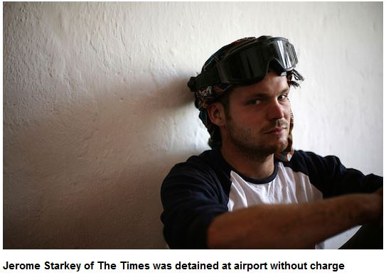 Kenya detains, deports British newspaper correspondent Jerome Starkey