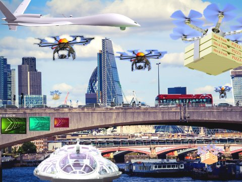 Cloud Security Alliance, Securing Smart Cities Release Municipal Drone Best Practices