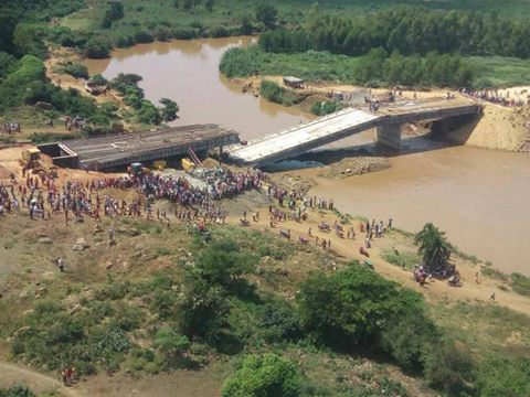 Sh1.2b Sigiri bridge collapses, dents Jubilee image, Nasa steals show