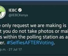 IEBC: No idling or roaming at the polling centre after voting