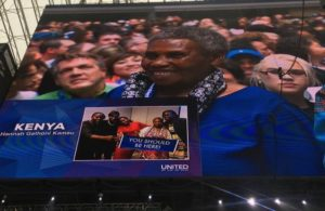 Hannah Muthoni recognised in California. The lady has made her travel dreams come true since joining WorldVentures