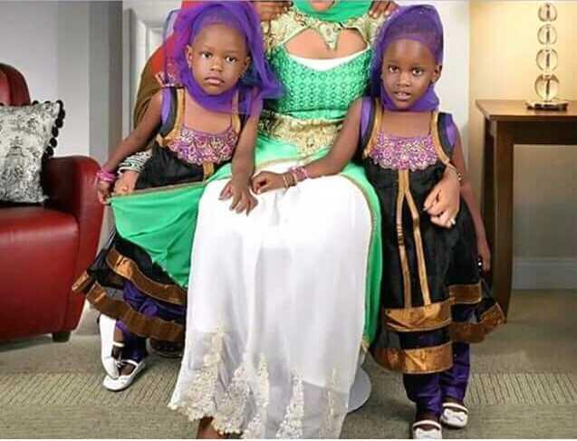 Jesca's twin girls