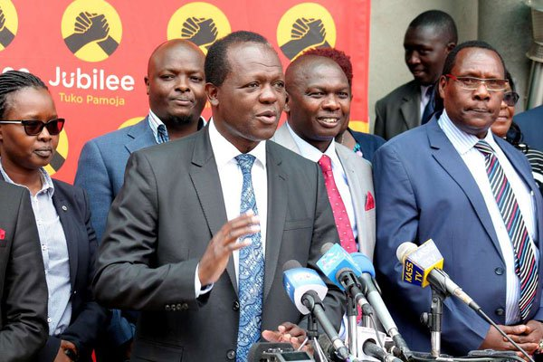 Jubilee Split Over Plan To Oust CJ Maraga