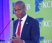 KCB boss Joshua Oigara crowned top CEO in Africa