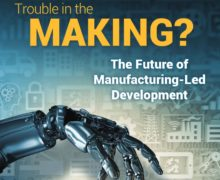 How Technology is Disrupting  Manufacturing Sector, World Bank