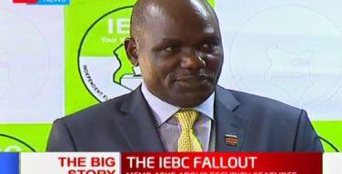 Wafula Chebukati memoes reveal rot