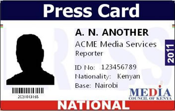 Press card: All you need to know about media accreditation in Kenya