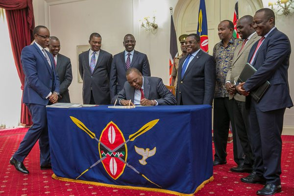 President Uhuru Approves Repeat Poll Budget