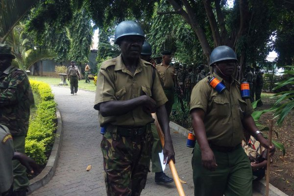 Police,NASA supporters Clash Over Anti-IEBC Demos Ban