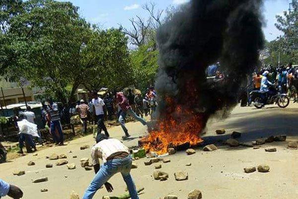Anti IEBC protests