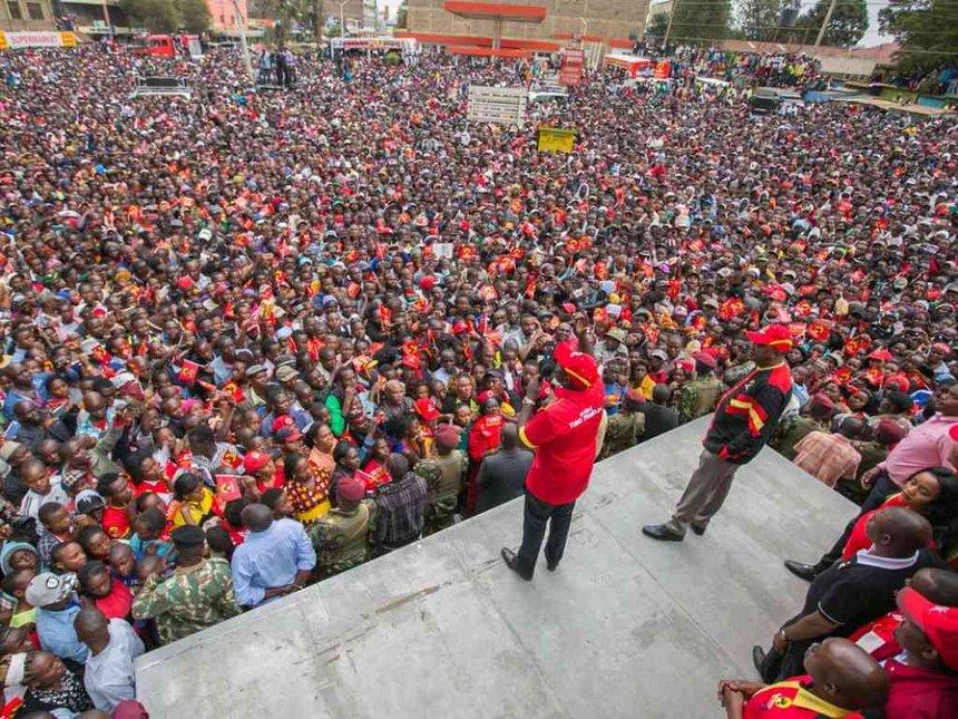 No Dialogue With Raila,The Ballot Will Tell It All-UhuRuto
