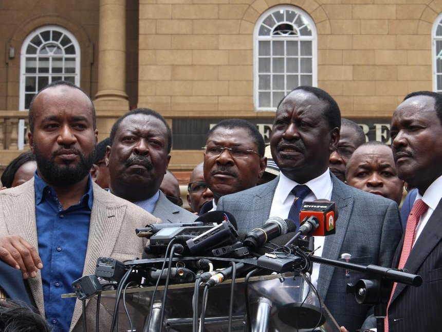 Raila Withdraws From Repeat Presidential Election