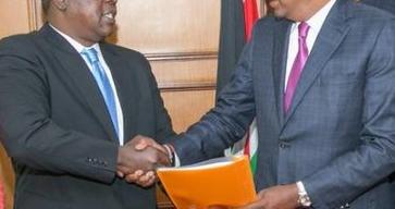 Matiang'i,Uhuru