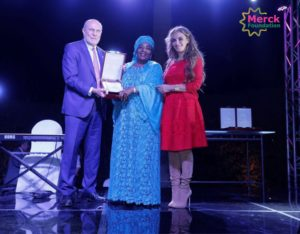 First lady of Niger, Chairman of Merck exceutive board and CEO of Merck foundation