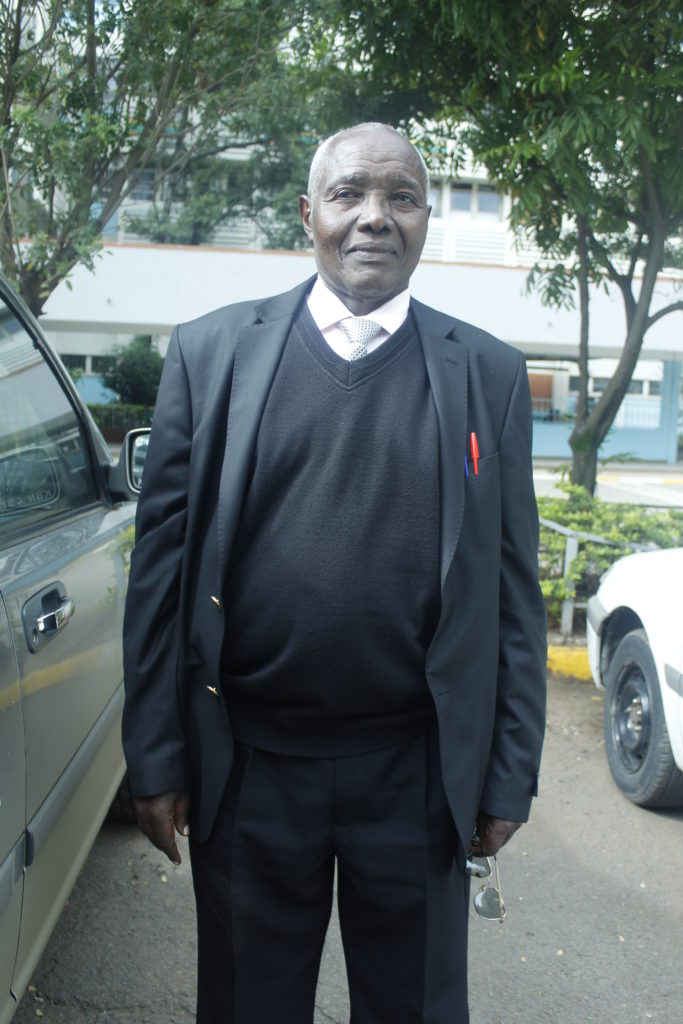 Retired Pastor Francis Njau