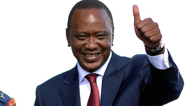 Happy Holidays: President Uhuru Kenyatta, first lady dancing