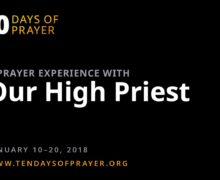 Ten Days of Prayer 2018