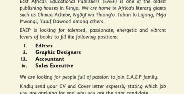 Jobs EA publishers