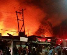 Raging Lang'ata fire left four dead,thousands homeless