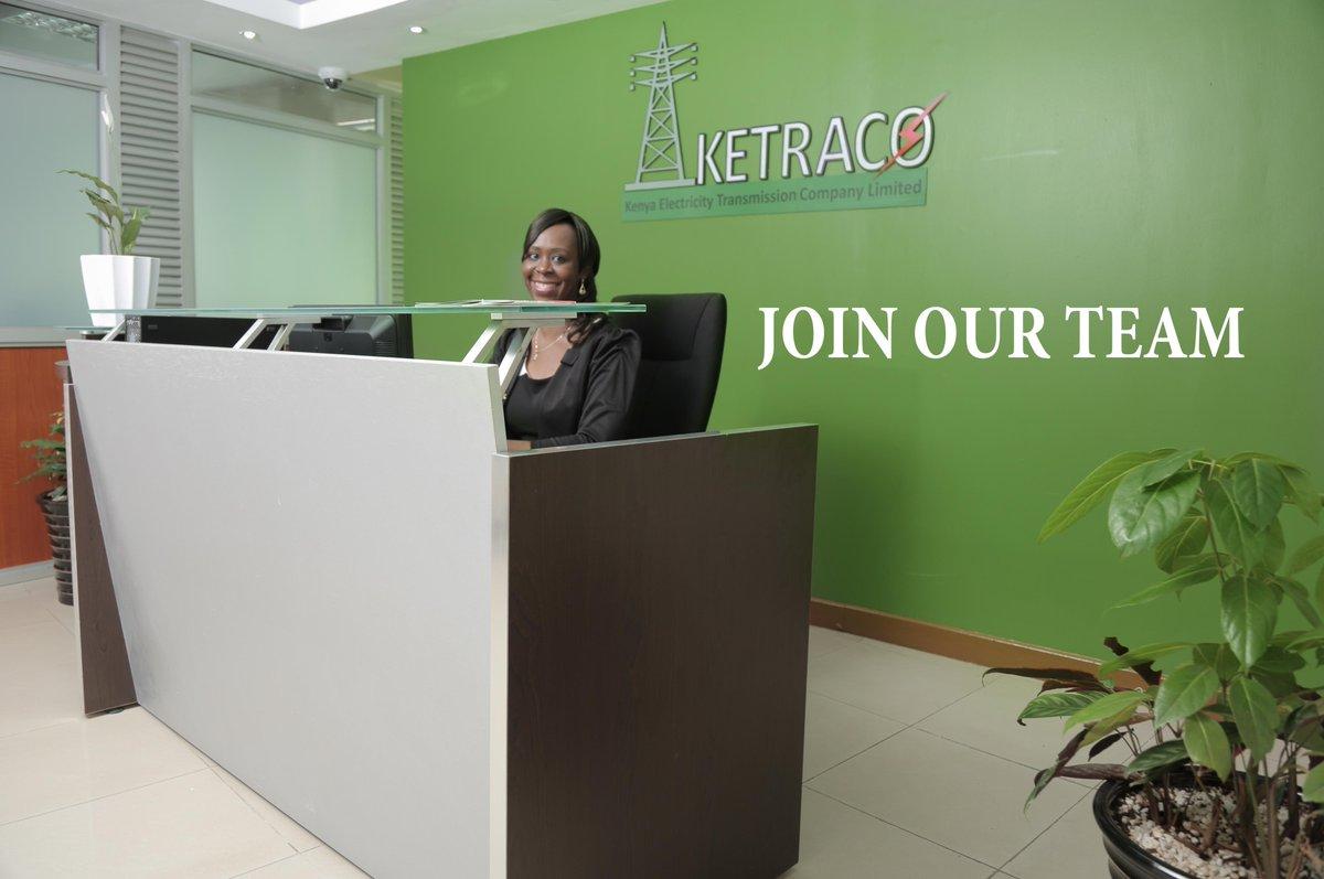 Ketraco is hiring deadline-19 Jan, 2018 4.30pm