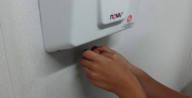 Using a hand dryer can be a health hazard