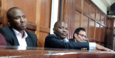 Mr Keter, Mr Madat Saburali and Mr Johnstone Arthur Sakwa