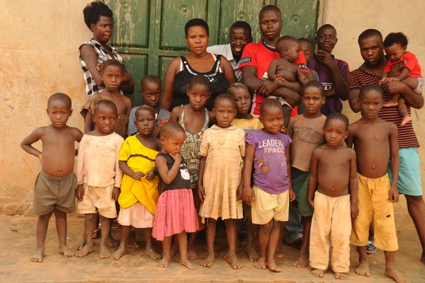 Ugandan woman, 37, has given birth to 38 children