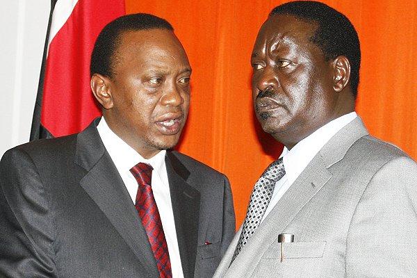 Uhuru, Raila Clash Over Chaos Claims and Repeat Polls