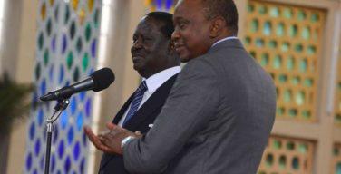 Uhuru,Raila