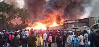 GIKOMBA FIRE