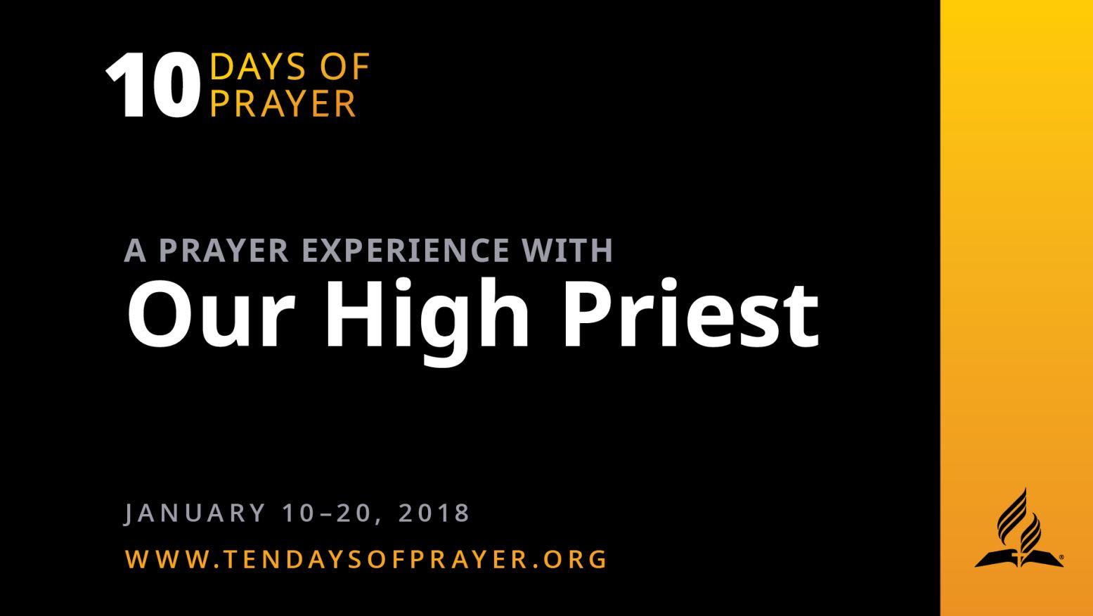 Ten Days of Prayer 2018