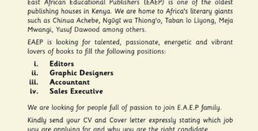 Jobs EA publishers