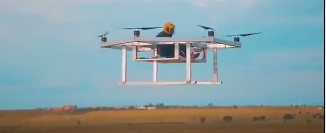 Passenger drone takes off in Kenya- test phase