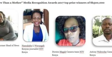 Top winners of Merck More Than a Mother media recognition awards