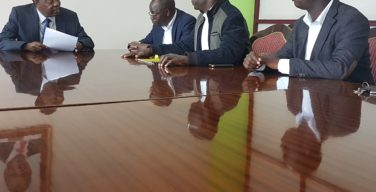 RBA CEO Mutuku Nzomo meets Kenya County Governments workers Union officials