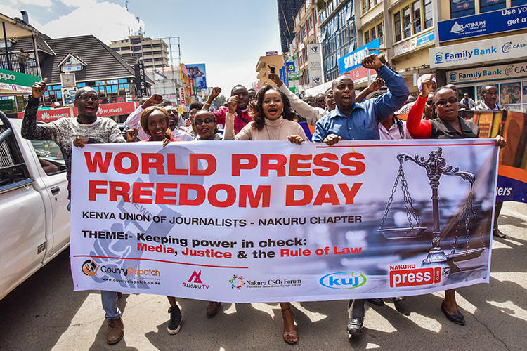 Newspaper journalist assaulted and abducted in Kenya