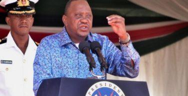 Uhuru calls critics washenzi