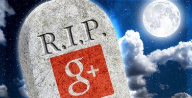 Google+ shuts down