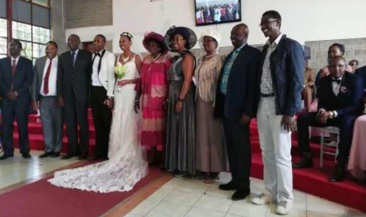 DP William Ruto cracks ribs at Baba Yao Waititu's daughter's wedding