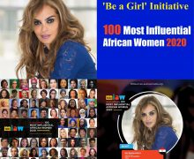 Merck Foundation CEO Rasha Kelej , Namibia First Lady ; Monica Geingos, among 100 Most Influential African Women 2020.