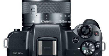 Canon M50 DSLR camera