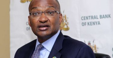 CBK Governor Dr. Patrick Njoroge. Covid-19 relief measures end on December 31, 2020